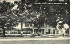 Saybrook CT Fenwick Riversea Inn Postcard
