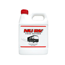 Nu Rv Finish Restorer renews faded Rvs, motorhomes, coaches, campers, trailers