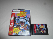 BOXED SEGA GENESIS GAME CARTRIDGE THE ADVENTURES OF MIGHTY MAX W CASE