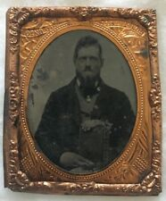 Ninth Plate Tintype of a Civilian Man