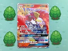 Pokemon - Ho-Oh GX - SM57 - SM Black Star - Promo (Standard Size)