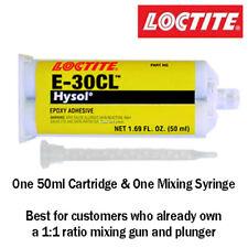 Loctite EA-Hysol E-30CL 30-Min Low Viscosity Clear Epoxy 50ml cartridge