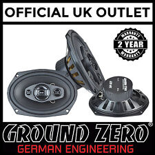 "Ground Zero Iridium GZIF 69X 360 Watts 6""x9"" 3 Way Coaxial Car Speakers"