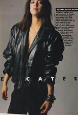 New listing Vintage Moda Italia 1984 Andie Macdowell Fur Pelze Phoebe Cates Diane Lane Mode