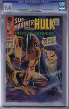 Tales to Astonish #92 Marvel 1967 CGC 9.4 (NEAR MINT) SILVER SURFER Cameo