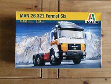 Italeri 756: MAN 26.321 Formel Six