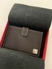 Cartier Leather Card Holder - 100% Authentic Never Used Classic Design Wallet