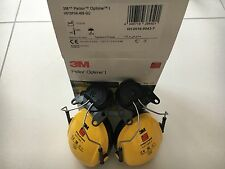 3M Peltor H510P3A Optime I Ear Muffs Helmet Mounted Hearing Protection SNR 26dB