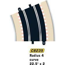 Scalextric 8235 Radius 4 Curve 22.5 Degree x 2 échelle 1:32 Accessoire (PL)