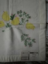 NOS New Vintage NORTH STAR Duck Print CHATHAM Crib Baby Blanket Retro