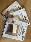 Three Pack iDecōz Phone Mirror Rose Gold, Gold, And Silver With Diamond Frame