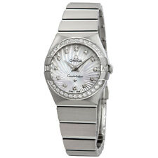 Omega Constellation Mother of Pearl Diamond Dial Ladies 24 mm Watch