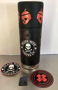 Death Wish Coffee Pumpkin Klean Kanteen  Thermos Limited Edition Sold Out New