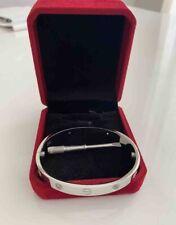 Cartier White Gold Bracelet