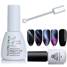 3Pcs/set Chameleon 3D Cat Eye Magnetic UV Gel Polish Black Gel Color BORN PRETTY