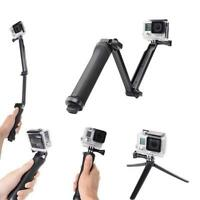 Hand Grip Arm 3 Way Selfie Stick Tripod Mount Monopod for GoPro Hero 2 3 3+ 4 5