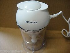 Frigidaire 220v Mini Food Chopper Processor 220 Volt Euro Power Cord Plug