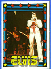1978 Monty Gum ELVIS PRESLEY card from Holland (blank back)                n