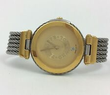 PHILIPPE CHARRIOL STAINLESS STEEL GOLD SILVER TONE WRIST WATCH