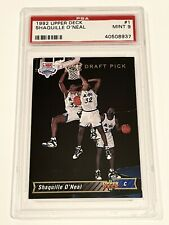 1992 Shaquille O'Neal Upper Deck #1 RC PSA 9 Mint (+1 other O'Neal PSA 9 Card)