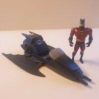 Batman Animated Series Batwing 1993 Kenner and batman figure