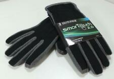 mens ISOTONER SMARTOUCH 2.0 Gloves BLACK GRAY XL smart touchscreen iphone ipad