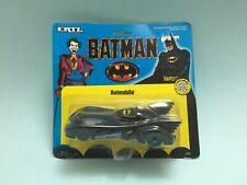 Original 1989 Vintage ERTL Batman Batmobile Car Die Cast Metal Toy Unopened BNIP