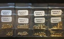 160 Pc Master & American Lock Padlock Key/Bottom Security Pins Locksport