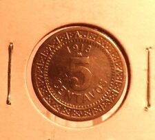 CIRCULATED 1913 5 CENTAVO MEXICAN COIN !!!!!
