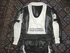 vintage Motorradkombi Probiker Racing Bikerkombi Motorrad Anzug Gr.48