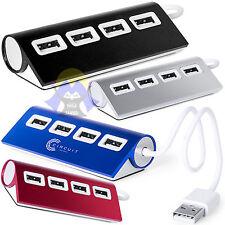 Moltiplicatore HUB Adattatore 4 Porte USB CIABATTA Cavetti SPLIT per PC COMPUTER