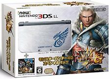 Nintendo 3ds LL Monster Hunter 4G Special Pack complete Japan New F/S