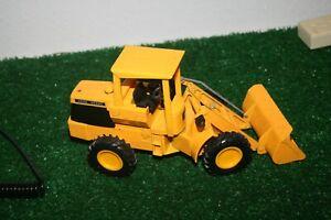 """Vintage ERTL John Deere Bulldozer Wheel Loader 11 1/2"""" Yellow"""