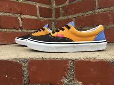 Vans Mix & Match Era Black Blue Gold Green Skate Sneaker Men Size 6 Women 7.5