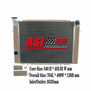 3Row Core Aluminum Radiator For Holden Commodore VB VC VH VK V8 1979-1986 83 MT