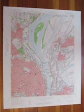 Granite City Illinois 1959 Original Vintage USGS Topo Map