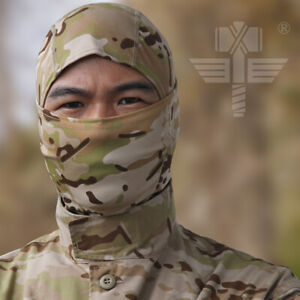 Airsoft Military Ninja Headwear Facemask Hunting Balaclava Special Forces Camo