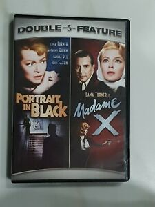 Portrait in Black and Madame X DVD Region 1