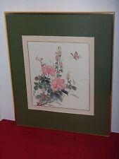 CHINESE BRUSH PAINTING - Floral Butterfly - Virginia Lloyd Davies - JOYFUL BRUSH