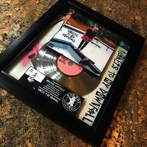 Machine Gun Kelly Tickets To My Downfall Million Record Sales Music Award Vinyl