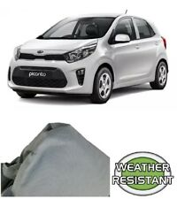 Car Cover Suits Kia Rio, Picanto Hatchback to 4.06m Weathertec Ultra Non Scratch