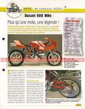 DUCATI 900 Mhe 2000 ( Mike HAILWOOD ) Joe Bar Team Fiche Moto #001895
