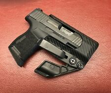 crazy eyes holsters sig sauer p365 iwb S:A:F: mod ll kydex holster