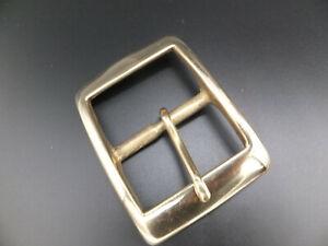 "CAST SOLID BRASS [ 3/8""  - 2"" ] RECTANGLE BELT BUCKLE [ 10 mm - 50 mm ]"