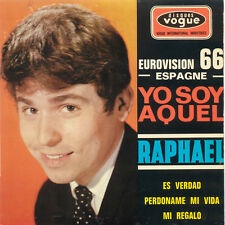 RAPHAEL Yo Soy Aquel EUROVISION 1966 FR Press Vogue INT. 18061 EP