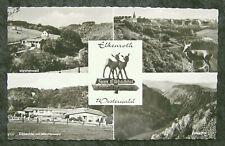 Postkarte: Elkenroth - 4 Ansichten (welliger Rand)