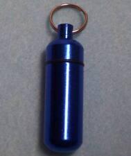 Cremation Keepsake Memorial Keychain Urn Blue