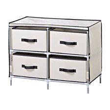Homestar ZH141796BE 4-Drawer Fabric Dresser
