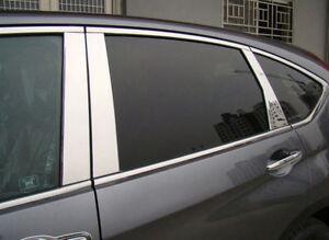 For Hyundai Santa Fe 2013-2018 Stainless steel Window Center Pillar Post Cover
