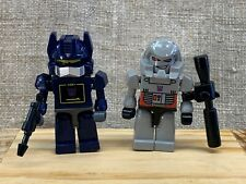 KRE-O Transformers Megatron And Soundwave Minifigures New